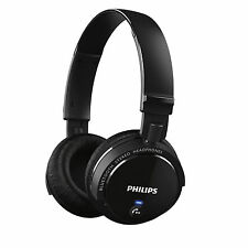 Philips SHB5500 Bluetooth Wireless On Ear Headphones Stereo Headsets Black