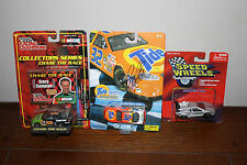Lot of 3 DieCast Cars #32 tide/# 92 stacy compton/ Speed wheels series xIII NIP