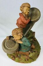 Tom Clark Signed Gnome Moore or Les 911 Telephone #1093 Edition #67 1985 Cairn
