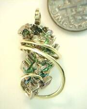 32.68ct Bismuth Crystal in Hand Forged 14kt Gold Art Wrap