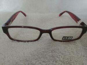 "Foster Grant Women's Brown ""Aurora"" Reading Glasses Readers +1.00"