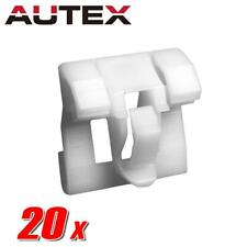 20x Nylon Door Molding Protector Rivet Clip Retainer for Honda Civic 1992-1995