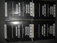 2005 DODGE MAGNUM CHRYSLER 300 300 SERIES Service Shop Repair Manual Set OEM