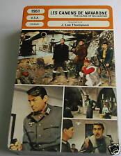 z- the guns of navarone French film trade card
