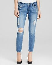 DL 1961 Azalea Relaxed Skinny Distressed Soraya Jeans - Size 26