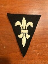 WWI US Army Liaison Service AEF wool