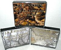 The Fellowship of The Ring-  3 Vol Set - Audio CD Book-  J.R.R. Tolkien, Harper