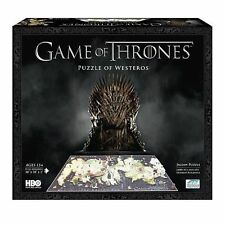 Game Of Thrones Westeros 4d Puzzle 1400 Pcs Diamond Select Toys
