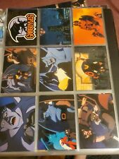 GARGOYLES TRADING CARDS series 1 complete base set plus chase cards, near mint