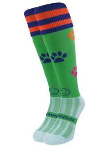 WackySox Rugby Socks, Hockey Socks - Paws For Thought