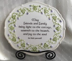 Irish Proverb Plaque  **beautiful**