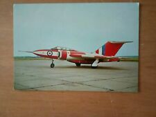 CARD; GLOSTER JAVELIN FAW9; DUXFORD IMPERIAL WAR MUSEUM;CAMBRIDGESHIRE