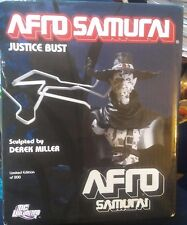 AFRO SAMURAI JUSTICE BUST Limited to 200, From 2006