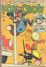 FOX & CROW #94 (1965) DC Comics Brat Finks B FAIR