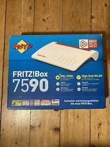 AVM FRITZ!Box 7590 Dual-Band WLAN DECT Router Supervectoring VDSL! Wie neu!