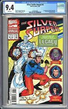 Silver Surfer Annual #6 CGC 9.4 White Pages 1993 3724519020 1st Legacy Genis-V