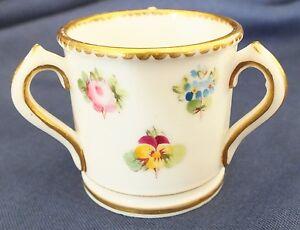 """Antique Minton Miniature Porcelain Tyg 1"""""""