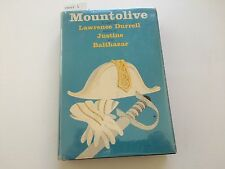 Mountolive by Lawrence Durrell - 2nd printing - March 1959