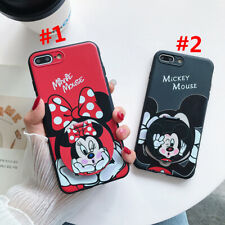 Mickey Minnie Mirror Phone Case Cover For Samsung Galaxy A71 A9 2018 A70/A70S