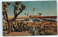 *Sky Harbor Airport Classic Cars Phoenix Arizona Vintage Postcard B81