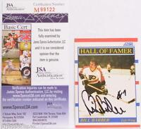 Bill Barber Autographed 1990 Score Card JSA COA Philadelphia Flyers NHL Hockey