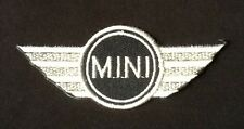 MINI COOPER WINGS RACE TEAM MOTOR SPORTS CAR BADGE IRON SEW ON PATCH