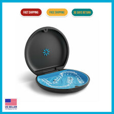 Invisalign Aligner and Retainer Slim and modern Case secure at home Road Black