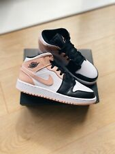 Nike Air Jordan 1 Mid GS Crimson Pink UK 5/US 5.5Y *IN HAND READY TO SHIP* 🚚✅