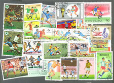 Football on stamps 200 all different collection