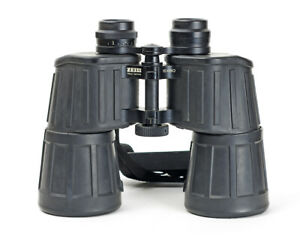 Binoculars ZEISS West Germany 15x60 Red T Rubber Coated No.205410