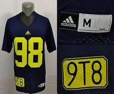 Adidas Tom Harmon University of Michigan College Football Jersey 9T8 NCAA Sports