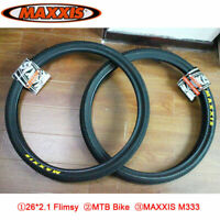 MAXXIS M333 26*2.1 Mountain Bike Flimsy Tire Wheels 60TPI Bicycle Tyres 1PC MTB