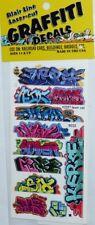 Blair Line 2257 Mega Set 8 Graffiti Decals Spur H0 1:87 Laser cut