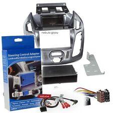 Ford Transit Connect PJ2 13-18 1-DIN Autoradio Einbauset Nebula Lenkrad Adapter