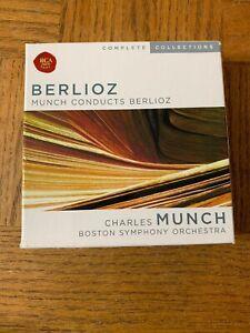 Berlioz Munch Conducts Berlioz 10 CD Set