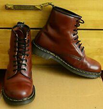 Dr Martens 1460, Mens Cherry Red Shoes, Size UK 9, EU 43