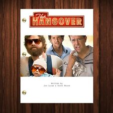 The Hangover Movie Script Reprint Full Screenplay Full Script