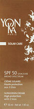Yonka Spf 50 Sunscreen Cream High Protection 50ml(1.65oz)  BRAND NEW