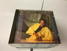 Luther Vandross : Give Me the Reason CD EPIC MADE IN JAPAN EPC 4501342 EX/EX