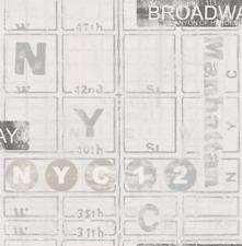 Wallpaper NYC New York Broadway Street Map Manhattan