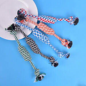 Dog Rope Toys for Aggressive Chewers 30cm Extra Large Bite Teething Chew Y`CR
