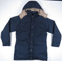 Vintage 90s Eddie Bauer Premium Goose Down Hooded Parka Jacket Coat Mens Large
