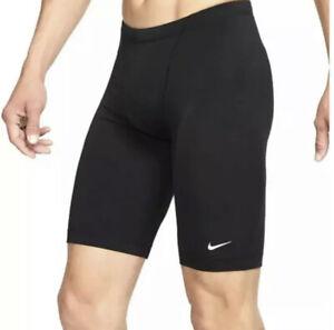 Nike Men's Square Leg Swim Jammer Waist Sz. 36 NEW NESSA006-001 Hydrastrong