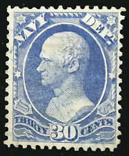 US Official Stamp 1873 30c Navy Hamilton Scott # O44 Used
