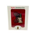 "Vintage Spode Christmas Tree Decor - Porcelain Candle & Candleholder 2"" Ornament"