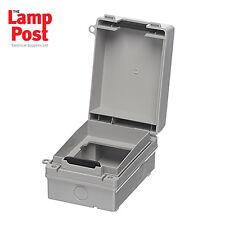 Europa ECWSK1 Waterproof Switch / Socket 1G 1 Gang Single Outdoor Enclosure Box