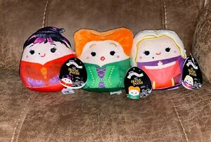 DISNEY HOCUS POCUS Squishmallow Set of 3 Sanderson Sisters ~ NEW WITH TAGS