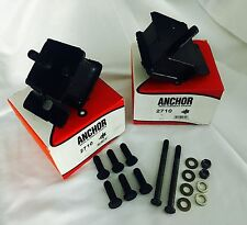 Compatible With Cummins 5.9 Motor Mounts And Black Grade 8 Bolts Kit 89-93