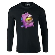 Mens Unicorn Frog Suit Long Sleeve T-Shirt Fantasy Animal Cute Funny Fancy Dress
