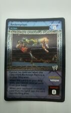 WWE Raw Deal REDEMPTION FOIL CARD